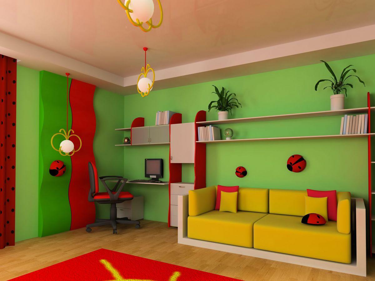 Farbige Wände für Ihr Kinderzimmer – Malerbetrieb Grüninger